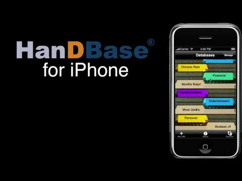 HanDBase for iPhone Overview