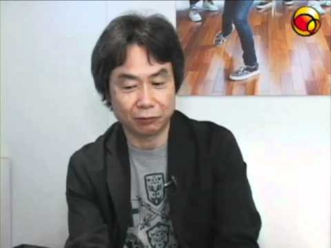 Entrevista com Shigeru Miyamoto