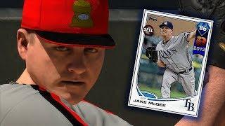 NEW DIAMOND JAKE MCGEE DEBUT!! MLB THE SHOW 18 DIAMOND DYNASTY