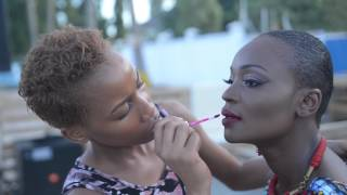 Behind the scene with Miriam Odemba