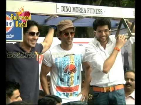 Hrithik Roshan launches Dino Morea's DM Fitness Initiative Adtiya Thackeray Part 1