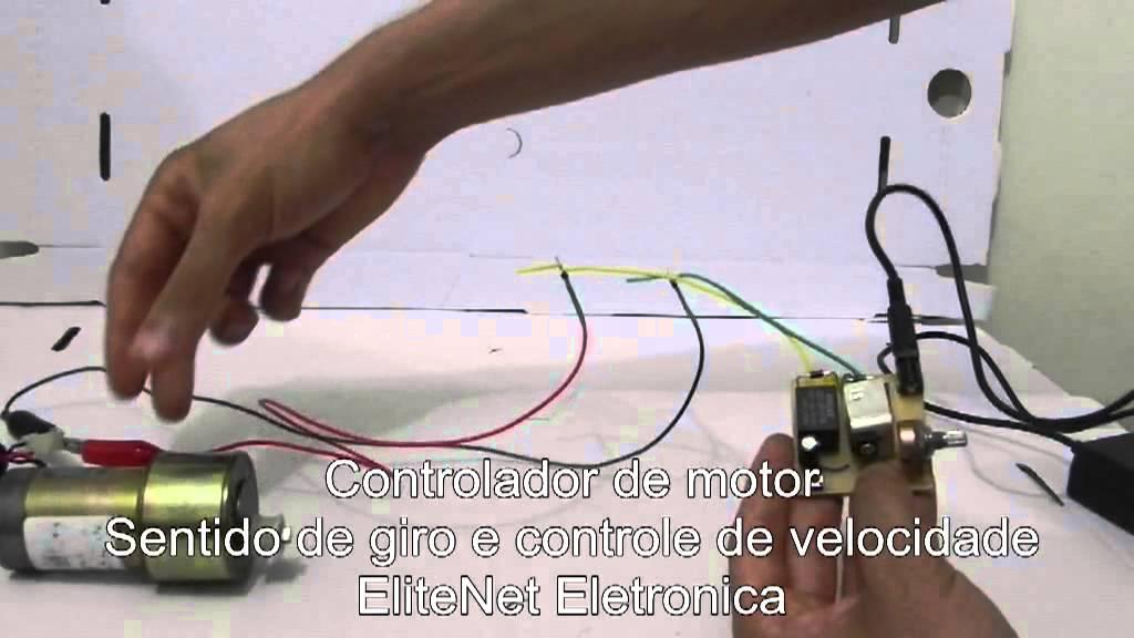 controlador de motor com sentido de giro e controle de. Black Bedroom Furniture Sets. Home Design Ideas