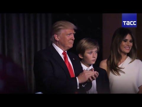 Полная речь Трампа после победы на президентских выборах в США