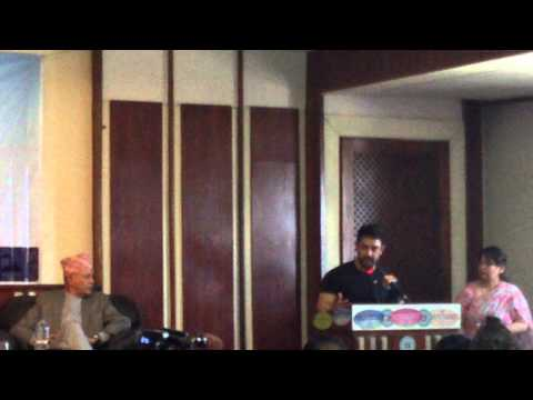 Aamir Khan visit to Nepal 2014 with Parash Khadka