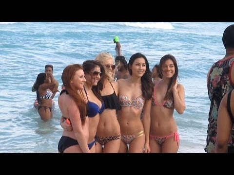 MIAMI. Student holidays at South Beach. Florida. USA.