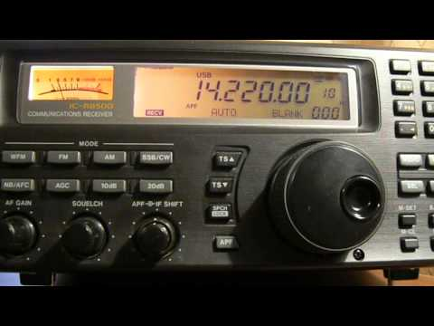 14220khz,Ham Radio,ZL2JBR(Wellington,New Zealand) 11-42UTC.