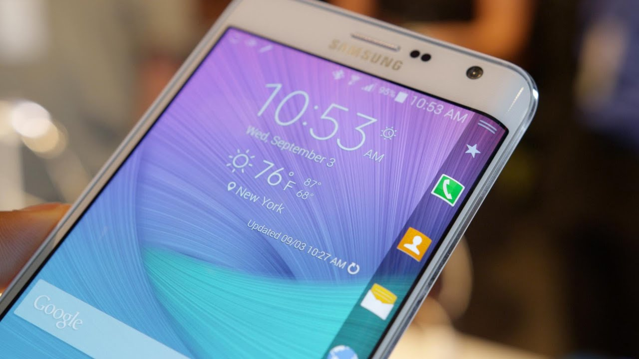 samsung galaxy note edge impressions youtube. Black Bedroom Furniture Sets. Home Design Ideas
