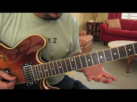 Guitar Lessons - Jazz, Blues, Rock - Intermediate - Advanced - Sweep - Arpeggio