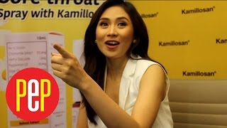 Sarah Geronimo's joke on one of the advantages of social media is