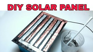 How to make solar panel at home ( Free energy generating from sunlight)