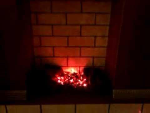Фальш огонь для камина своими руками