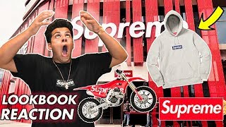 REACTING TO SUPREME LOOK BOOK (OMG!)