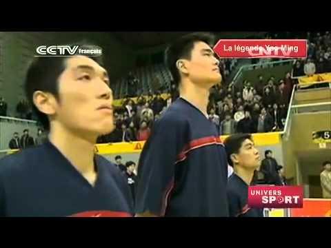 UNIVERS SPORT : Le Petit géant de Chine, c'est ainsi qu'on le surnommait dans le monde du basket
