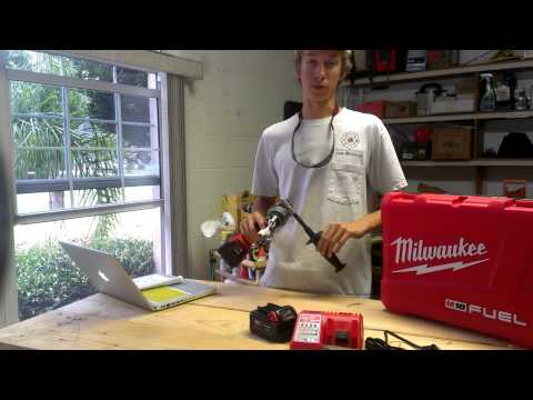 Review of brushless M18 Fuel Hammer Drill
