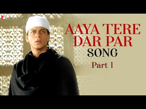 Aaya tere dar par - Version 1 - Full song - Veer-Zaara - Shahrukh...