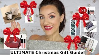 The ULTIMATE Christmas Gift Guide 2018 | Makeup and Beauty Gift sets