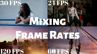 Frame Rates EXPLAINED - How To Edit With Different Frame Rates | Momentum Productions