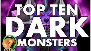 SUMMONERS WAR : TOP 10 DARK MONSTERS!!!