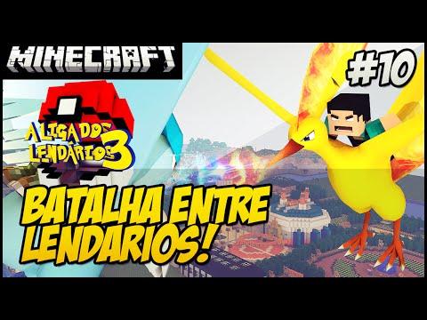 #10 A BATALHA DOS LENDÁRIOS Minecraft POKEMON LIGA DOS LENDÁRIOS 3