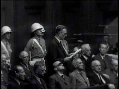 Statement of Nuremberg defendant Arthur Seyss-Inquart, Aug. 31, 1946, Day 216 (translated captions)
