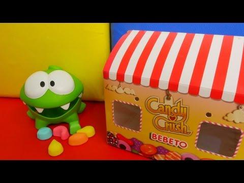 Видео для детей с Ам Нямом: учим цифры и цвета