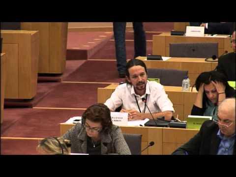 Pablo Iglesias Explica A Valenciano Qué Es La Hipocresía video