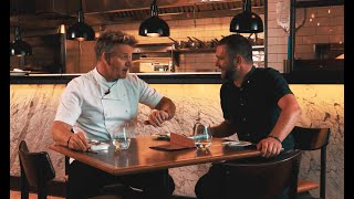 Gordon Ramsay critiques our cooking skills at Bread Street Kitchen, Dubai