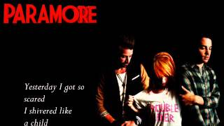 Paramore - In Between Days The Cure Cover Lyrics
