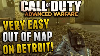 Advanced Warfare Glitches - Very Easy Out Of Map Glitch on Detroit!