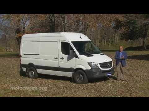MotorWeek   Road Test: 2014 Mercedes-Benz Sprinter