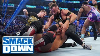 The Undisputed ERA crash SmackDown Tag Team Title Match: SmackDown, Nov. 15, 2019