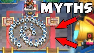 Top 10 Mythbusters in Clash Royale   Myths #8