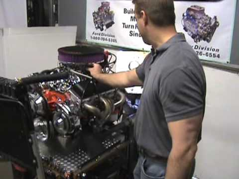 Small Block Chevy 383 Stroker AFR heads 500hp