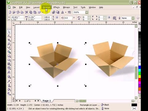 Illustration techniques in CorelDraw