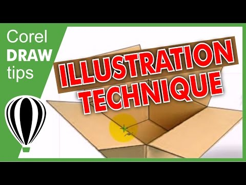 Illustration techniques in CorelDraw