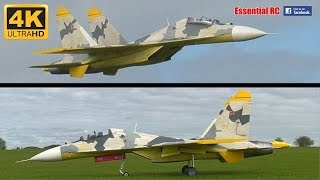 """LARGE SCALE RC Twin Jet Engine Su-27 """"FLANKER"""" [*UltraHD and 4K*]"""