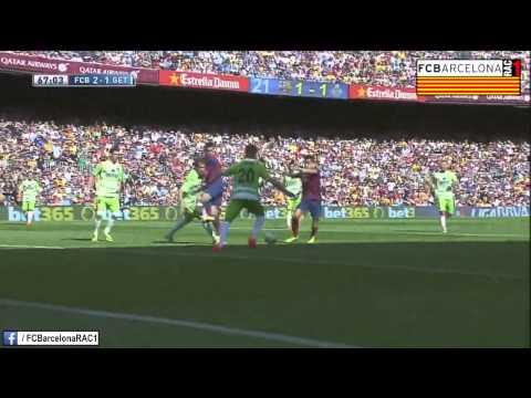 T13/14 J36 Liga BBVA: FC Barcelona 2-2 Getafe CF (RAC1)