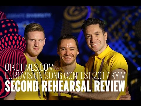 oikotimes.com: The Netherlands' Second Rehearsal Review Eurovision 2017