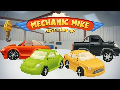 Mechanic Mike | Машинки мультик Car Garage & Salon | Cars for Kids | Videos for Children | Gameplay