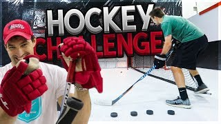 THENASHER61 VS. HOWTOHOCKEY (HOCKEY CHALLENGES)