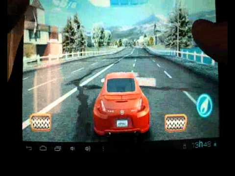 Asphalt 6 HD no tablet Genesis gt 7200