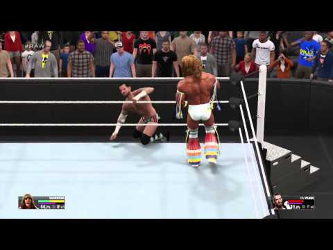 WWE 2K15 Ultimate Warrior vs Cm Punk