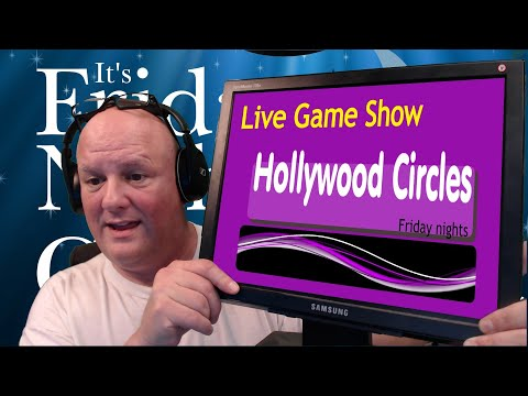 Hollywood Circles  game Show