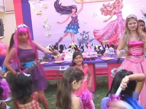 SHOW INFANTIL BARBIE Y LA ESTRELLA DEL POP - RECREOLANDIA - LIMA - VIDEO 1