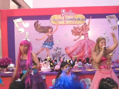 Show infantil Barbie y la Estrella del Pop - RECREOLANDIA  Video 1