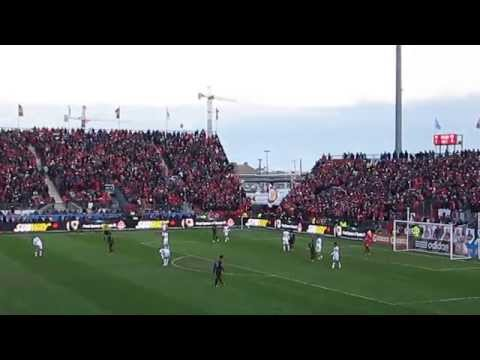 Toronto FC Home Opener featuring Jermain Defoe, Michael Bradley and Julio Cesar