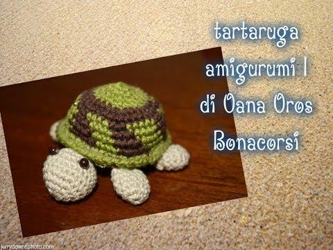 Amigurumi Tutorial Tartaruga : tartaruga amigurumi alluncinetto il carapace prima parte ...