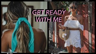 get ready with me - a summer day out.