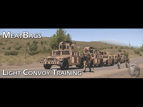 ARMA 3 - Insurgency - Light Convoy Patrol