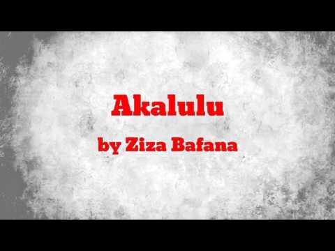 Akalulu audio by Ziza Bafana new release 2016 jeanmatic pro